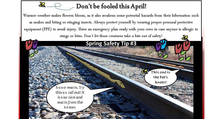 Short Line Safety Institute Continues Popular Safety Tip Program